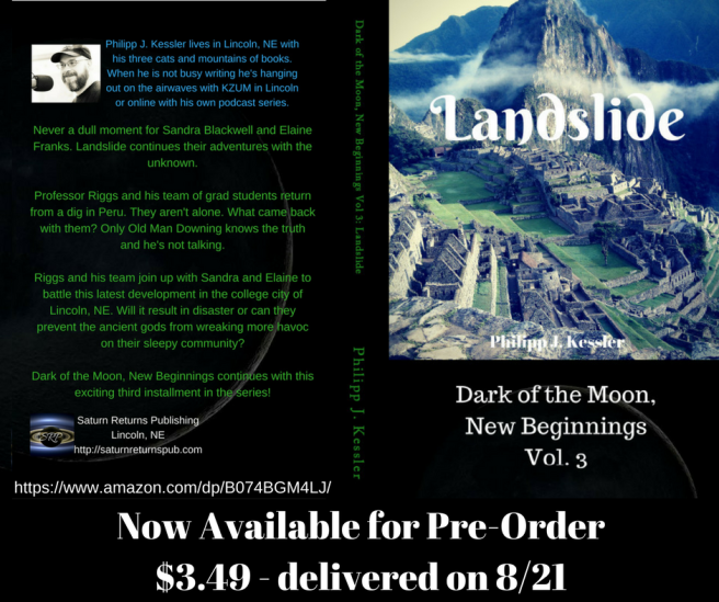 Landslide Kindle pre-order full cover